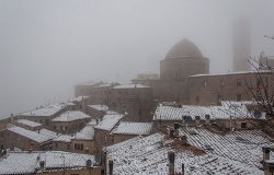 Neve a Volterra - gennaio 2021