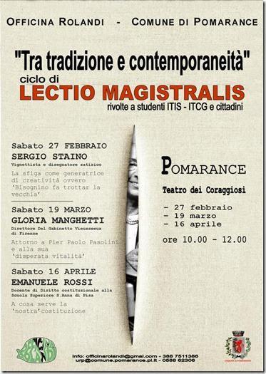 lectio-magistralis