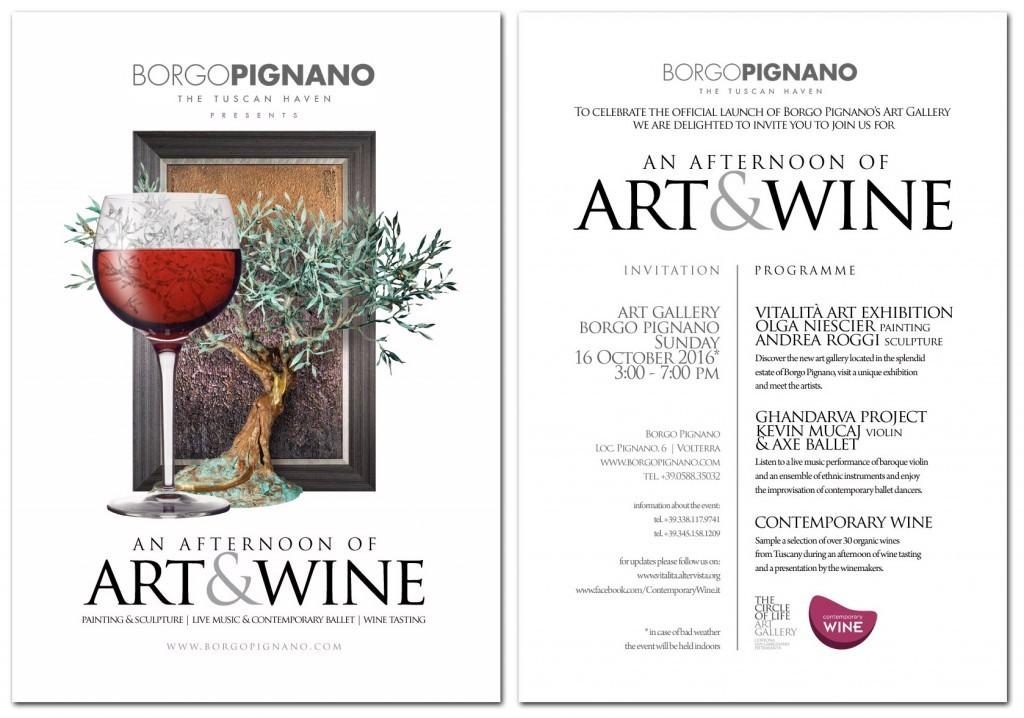 arte e vino pignano