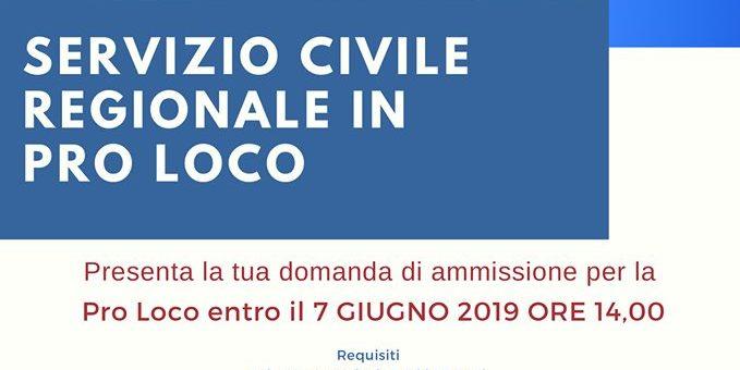 Servizio Civile Regionale 2019